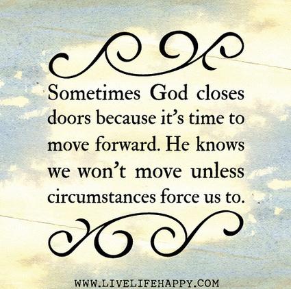Sometimes God Closes Doors | Praying | Scoop.it