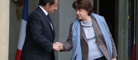 """Sarkozy mise sur Aubry"" 