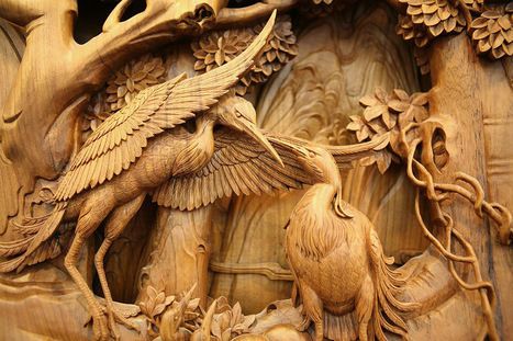 The Exquisite Detail of Traditional Chinese Dongyang Wood Carving   Colossal   Amazing art!   Scoop.it