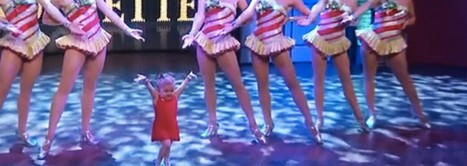 6-year-old girl shows off her moves with the Rockettes, wows crowd | Xposed | Scoop.it