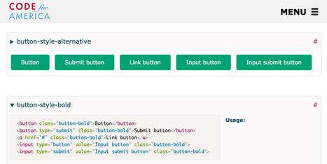 Website Style Guide Resources | UX-UI design | Scoop.it