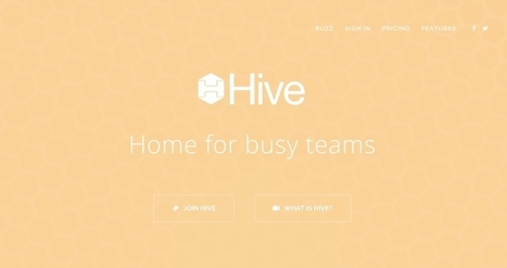 Hive. Outil de travail collaboratif simple et efficace - Les Outils Collaboratifs | Web information Specialist | Scoop.it