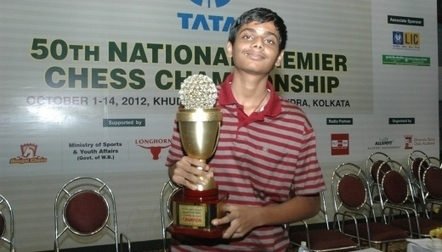 G. Akash wins India National Premier Chess Championship 2012 ...   Chess on the net   Scoop.it