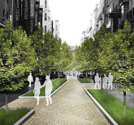 Madrid Is Covering Itself In Plants To Help Fight Rising Temperatures   Toiture terrasse végétalisée   Scoop.it