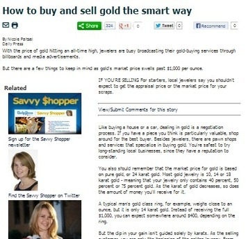 Sell Gold Jewelry Wisely to Get the Best Value | South Florida Coins... | Scoop.it