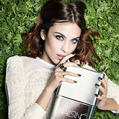 Alexa Chung Is the New Face of Nails Inc. | InStyle | beauty trends | Scoop.it