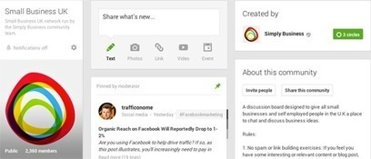 How to Create a Google+ Community to Grow Your Business   Cloud Central   Scoop.it