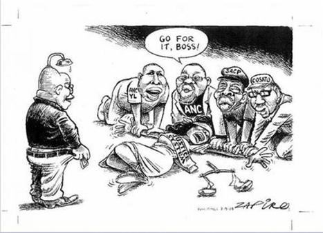 South African President Zuma Drops Case Over Zapiro's 'Rape ... | South African Politics | Scoop.it