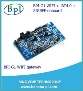 Aliexpress.com : Buy In stock ! Banana pi g1 BPI G1 WIFI,BT4.0,Zigbee smart home gateway board freeshipment from Reliable Integrated Circuits suppliers on SinoVoip Co.,Limited  Banana PI  | Alibaba... | Raspberry Pi | Scoop.it