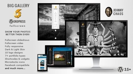 25+ Best WordPress Photography Themes | AWD | Web Designs | Scoop.it