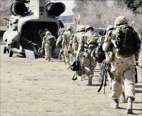 Mixed feelings on Canada's mission | Combat Camera | Scoop.it