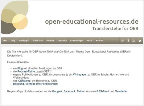 Freie Lehr-Lern-Ressourcen im Netz | Superposition | Scoop.it