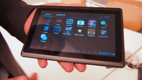 Hands-On With the World-Changing $40 Tablet | Innovation and Startups | Scoop.it