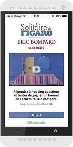 » France : Insert connecte ses MediaTables pour la Solitaire du Figaro Eric Bompard Cachemire   digital signage   Scoop.it
