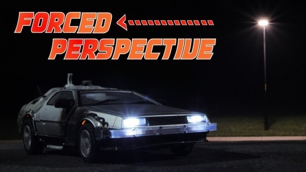 Amazing Back To the Future Forced Perspective Tutorial