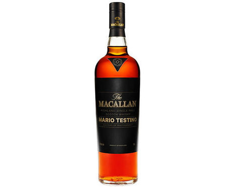 Snap up a limited edition Mari Testino for Macallan Single Malt Whisky for $3,500   Food Passions   Scoop.it
