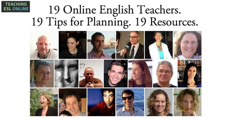 19 Successful Online English Teachers Share Their Tips and Resources for Planning Online Lessons | English as a foreign language. Materials | Scoop.it