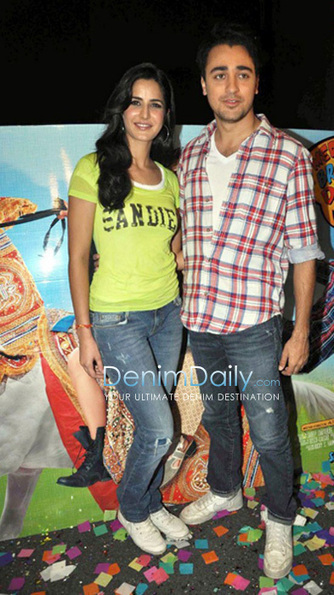 Katrina Kaif And Imran Khan In Jeans | Denim Daily | Denim Daily | Scoop.it