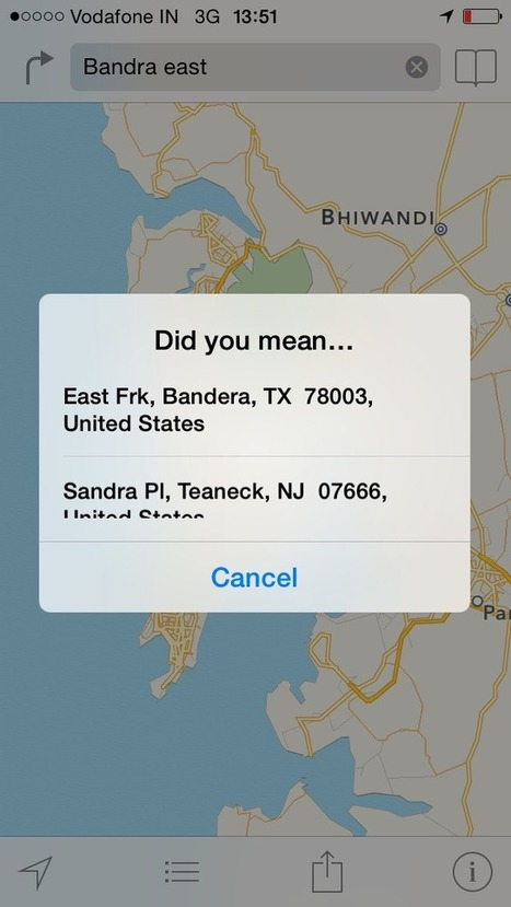 Have you used the Apple Maps? | AP Human Geography | Scoop.it