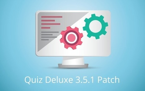 Joomla! Quiz 3.5.1 Patch is out | JoomPlace Blog | Scoop.it