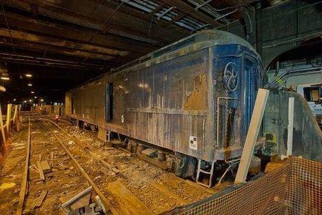 Track 61: The Mysterious Abandoned Underground Railway Beneath New York's Waldorf Astoria Hotel - Urban Ghosts | Life is wonderful ! | Scoop.it