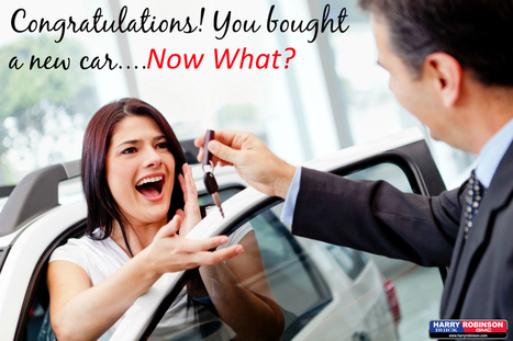 6 Things to Remember After You Buy A New Car | Car Shopping | Scoop.it