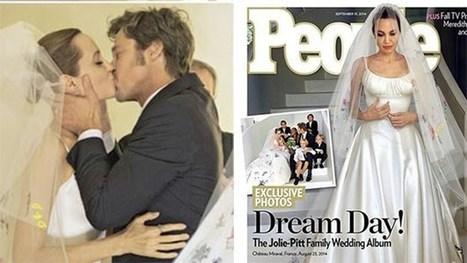 Brad Pitt and Angelina Jolie Wedding | Sizzling Views | Scoop.it