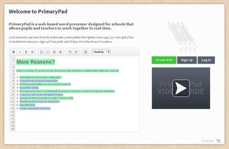 PrimaryPad : traitement de texte collaboratif p... | Outils et modes d'emplois | Scoop.it