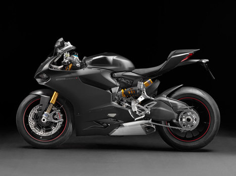 2013 EICMA: 2014 Ducati 1199 Panigale S - Going Stealth | Ductalk Ducati News | Scoop.it