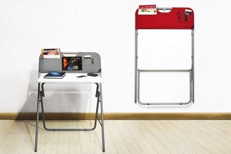 Bureau de poche | Décoration et aménagement de bureaux | Scoop.it