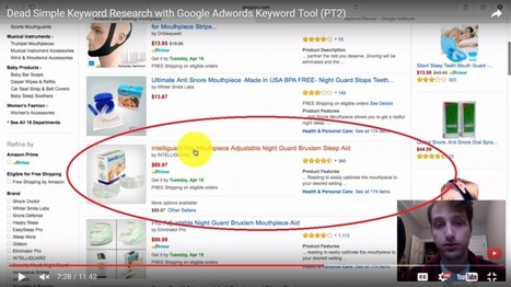 Keyword Research Made Easy (Google Adwords Keyword Tool) – Part 2 | Blossoms' | Scoop.it