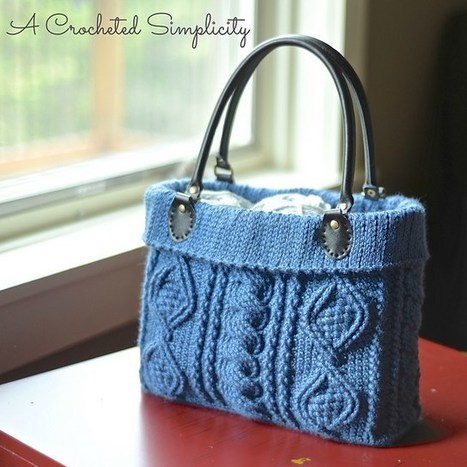 """Totally Textured"" Cabled Bag 