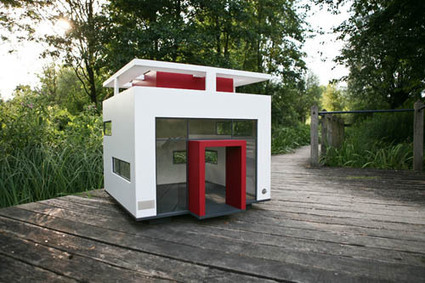 Cubix Modern Dog House - Dog Milk | All Things Dog | Scoop.it