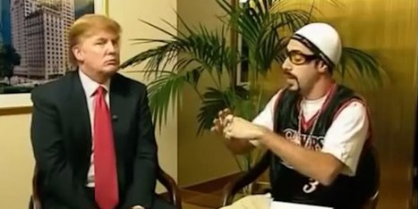 Sacha Baron Cohen recounts his 2003 Trump interview: 'I was the first person actually to realize that he's a d---' | MOVIES VIDEOS & PICS | Scoop.it