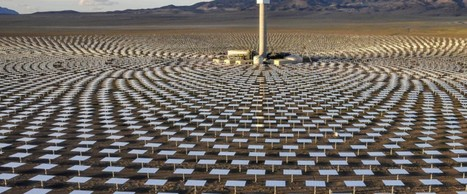 Revolutionary new solar power plant generates energy all day and all night | Primary Geography | Scoop.it