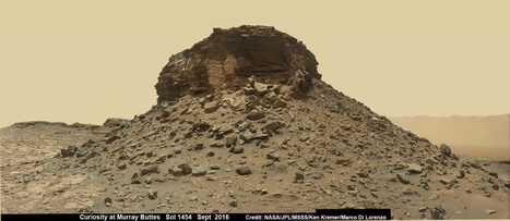 Drilling at Unfathomable Alien Landscapes - All in a Sols (Day's) Work for Curiosity | Amazing Science | Scoop.it