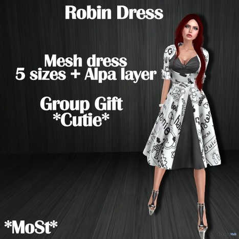 Robin Dress Cutie Group Gift by MoSt | Teleport Hub - Second Life Freebies | Second Life Freebies | Scoop.it
