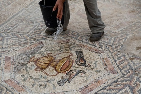 #1,700-Year-Old #Roman #Mosaic Discovered During City Sewer #Construction #Project. #art | Luby Art | Scoop.it