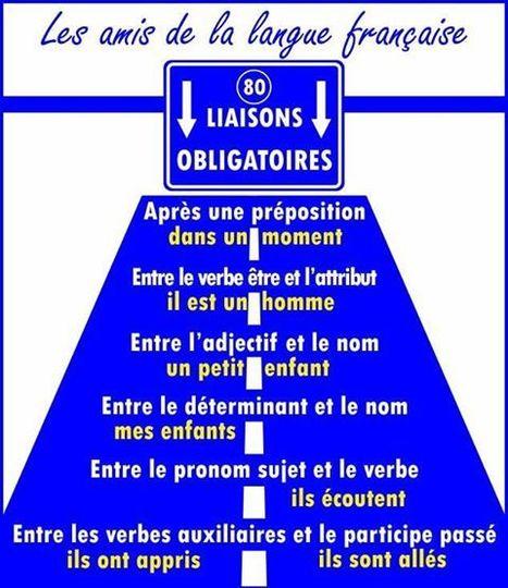 Enchaînements et Liaisons : des exercices - Enseignement/Apprentissage de la Prononciation du Français   Conny - Français   Scoop.it