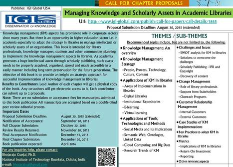 IGI Global: Call for Chapter Details | Research Trends in Knowledge Organisation Systems | Scoop.it
