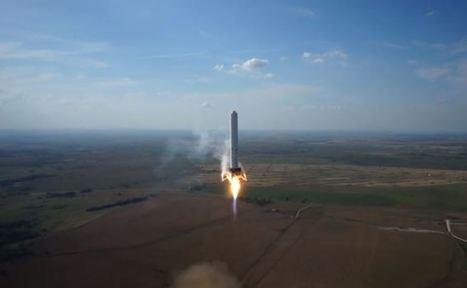 SpaceX, la fusée qui décolle, stationne et atterrie au sol | Resolunet | Scoop.it