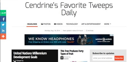 Cendrine's Favorite Tweeps Daily Features Being Mark Traphagen | Curation Revolution | Scoop.it
