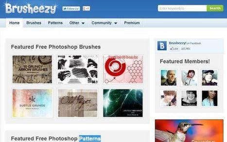 Brusheezy: miles de pinceles, patrones y texturas gratuitas para Photoshop | Recull diari | Scoop.it