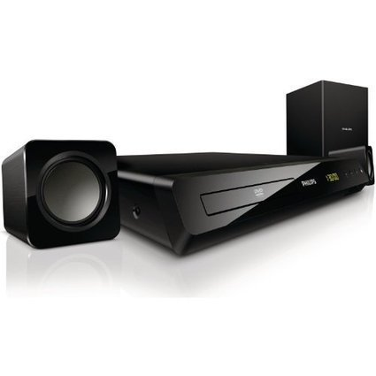 -1-   Philips HTD3200/12 DVD-Player (HDMI, 300 W, iPod/iPhone/MP3 Link, USB, 2.1) inkl. 2 Lautsprecher und Subwoofer, schwarz | Heimkinosysteme Kaufen | Scoop.it