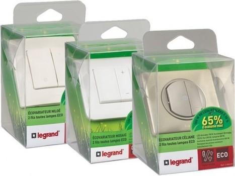 Legrand: premier variateur compatible avec toutes les lampes du marché | Le monde de l'outillage professionnel | Scoop.it