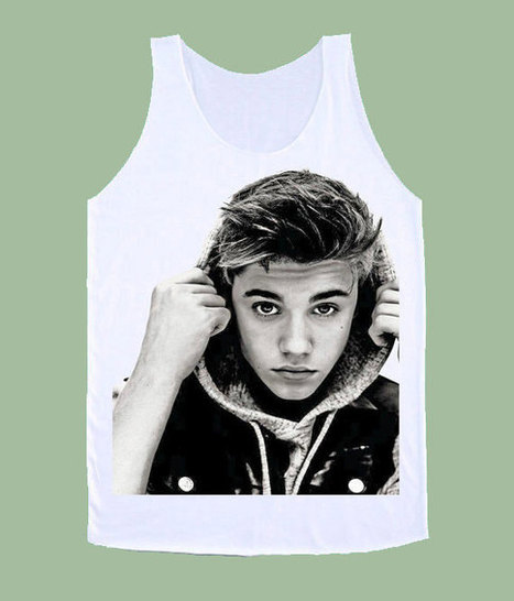 JUSTIN BIEBER Mug Shot Tank Top Unisex All Sizes | New Collection | Scoop.it