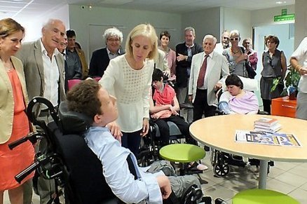 Visite de S. Neuville à Argelès : l'annonce attendue d'un plan polyhandicap n'a ... - L'indépendant.fr | Centre Bouffard-Vercelli Cerbere | Scoop.it