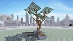 Présentation de l'« eTree », arbre solaire multifonctions | Innovations urbaines | Scoop.it