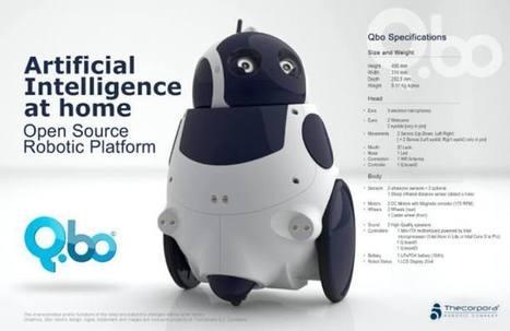 """Q.bo: el robot que aprende, con 'software' abierto y además,""""made in Spain"""" - RTVE.es   Ciencia y Tecnología Iberoamericana   Scoop.it"""