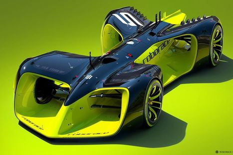 These are the crazy futuristic cars of Roborace, the world's first driverless racing series   Future of electric cars   Scoop.it